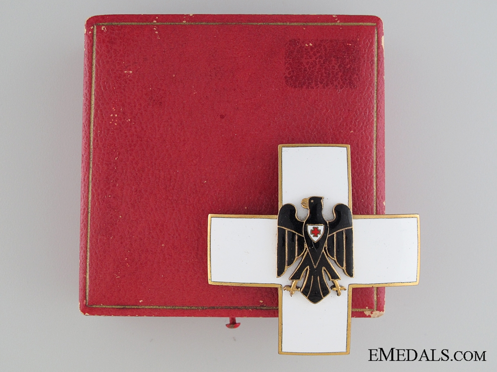 German Red Cross Decoration Type II by Godet
