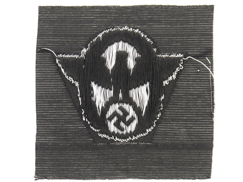 SS Police Field Cap Insignia for Other Ranks