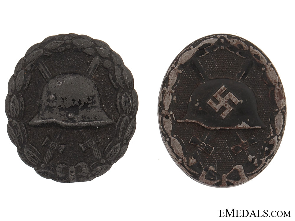 Two Wounds Badges