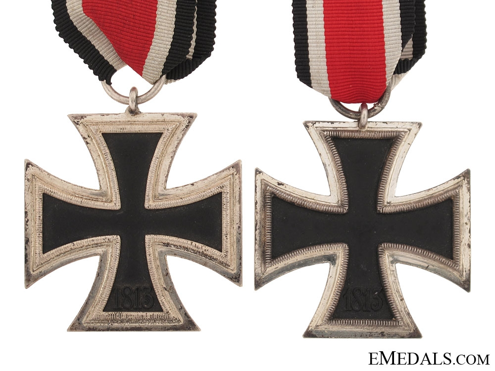 Two Iron Crosses Second Class 1939