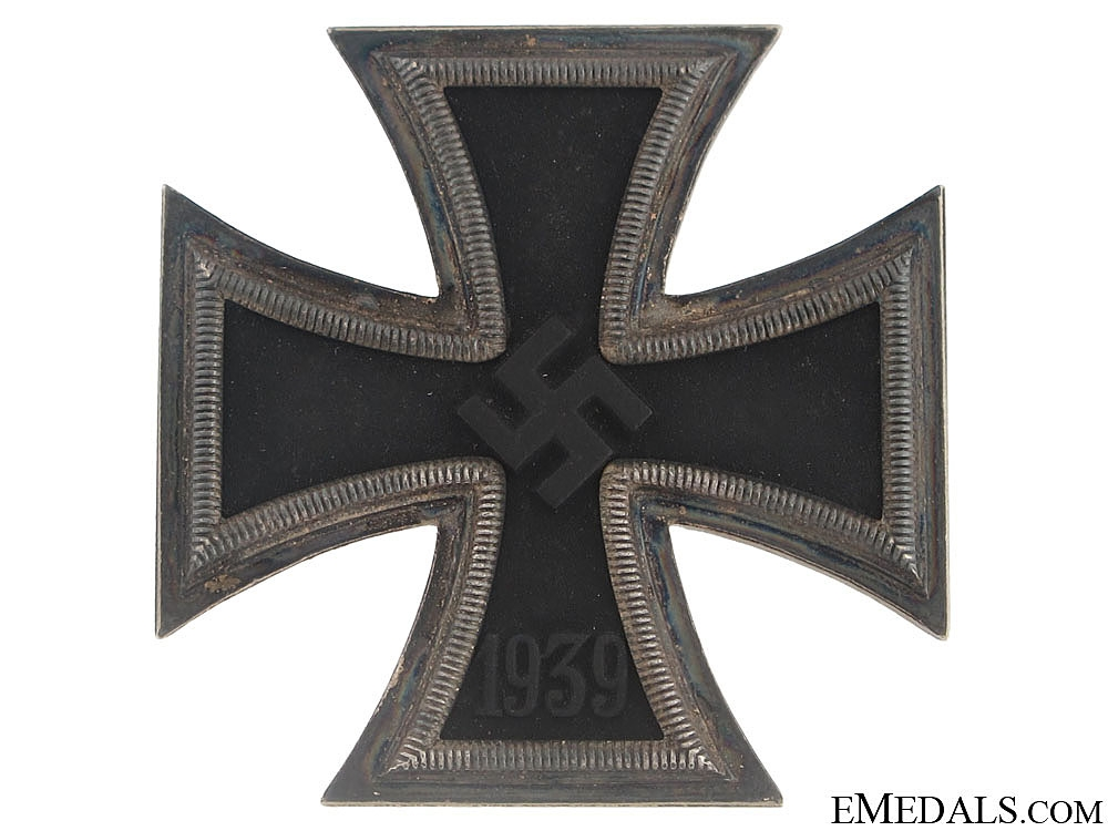 Iron Cross First Class 1939 – # 65