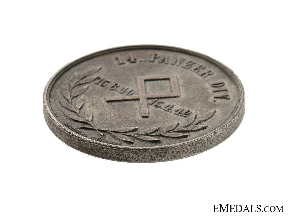 Medal of the 14. Panzer Division