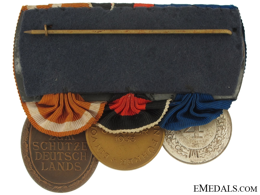 Mounted Group of Three Awards