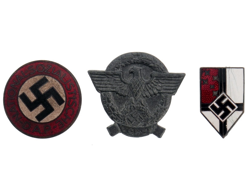Lot of Three Badges