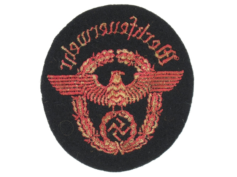 Fire Protection Police Sleeve Eagle