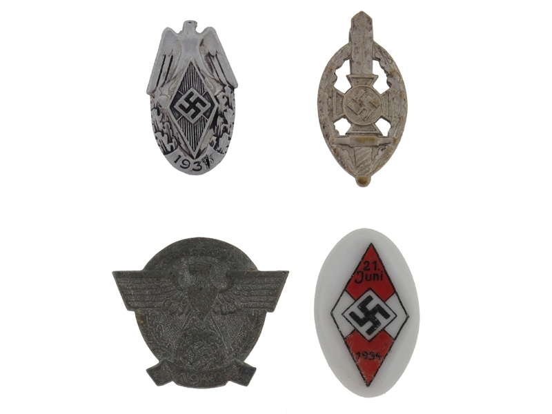 Four Badges/Tinies