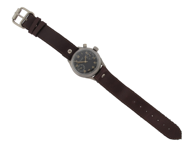 Rare and Early Luftwaffe Pilot's Watch by Hanhart