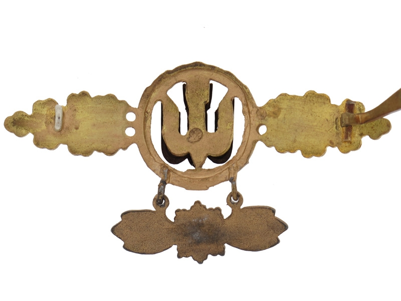 Squadron Clasp for Bomber Pilots w/Hanger