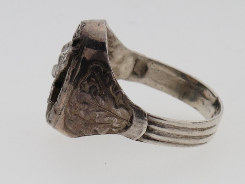 Fine Paratrooper Silver Ring