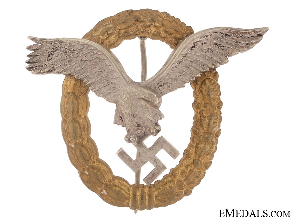 Combined Pilots and Observers Badge