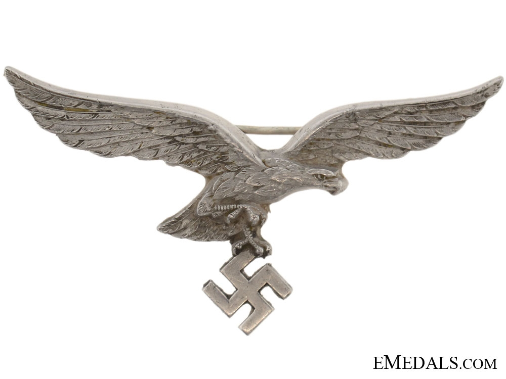 Officers White Summer Tunic Breast eagle