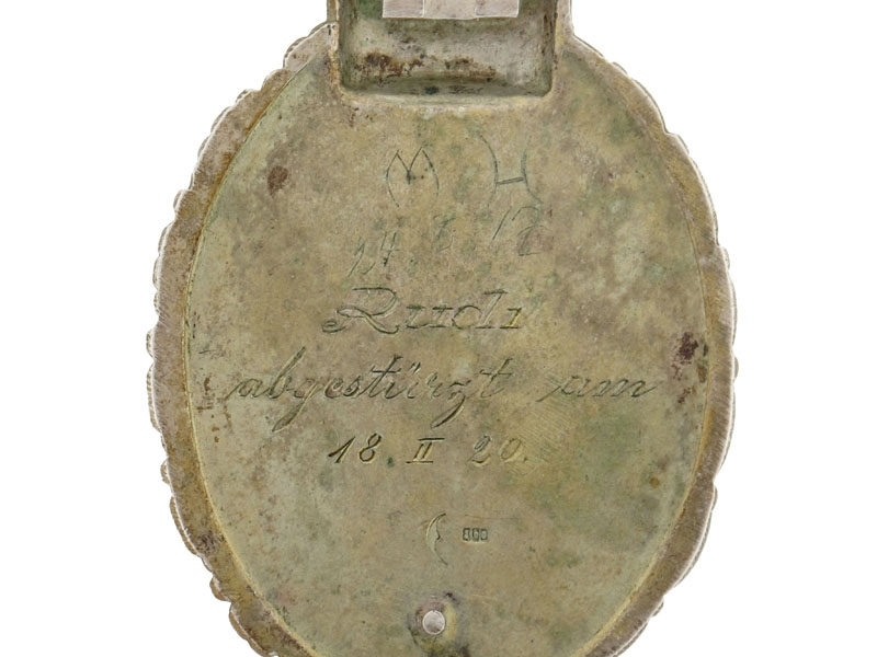 Prussian Pilot's Badge - Engraved