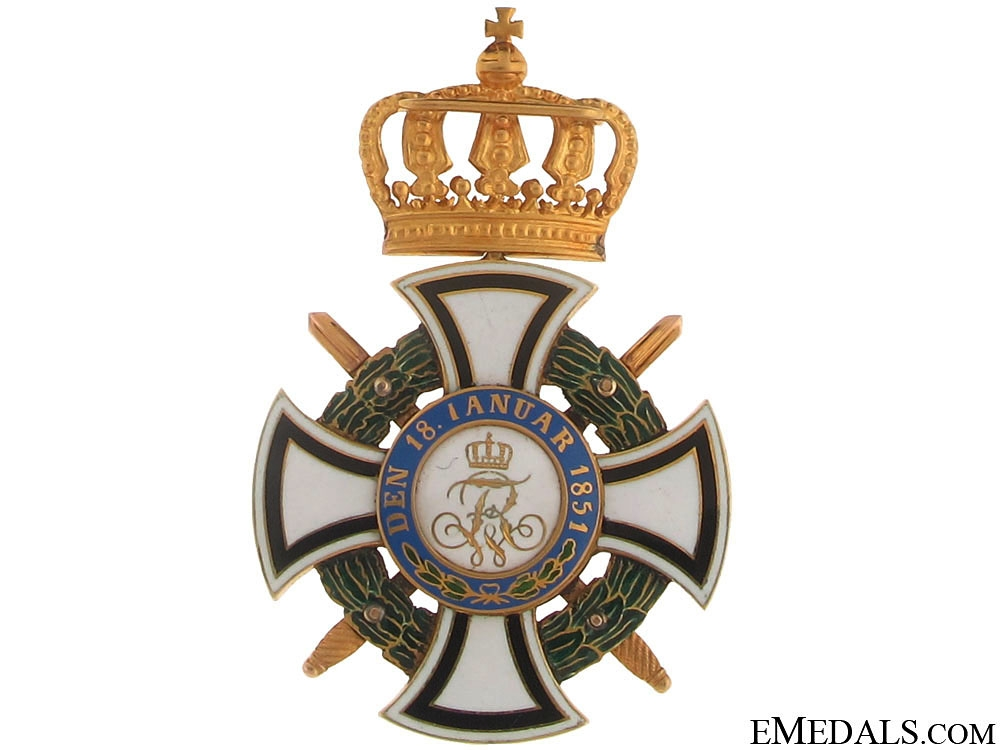"""Order of Hohenzollern """"¢¤ Gold"""