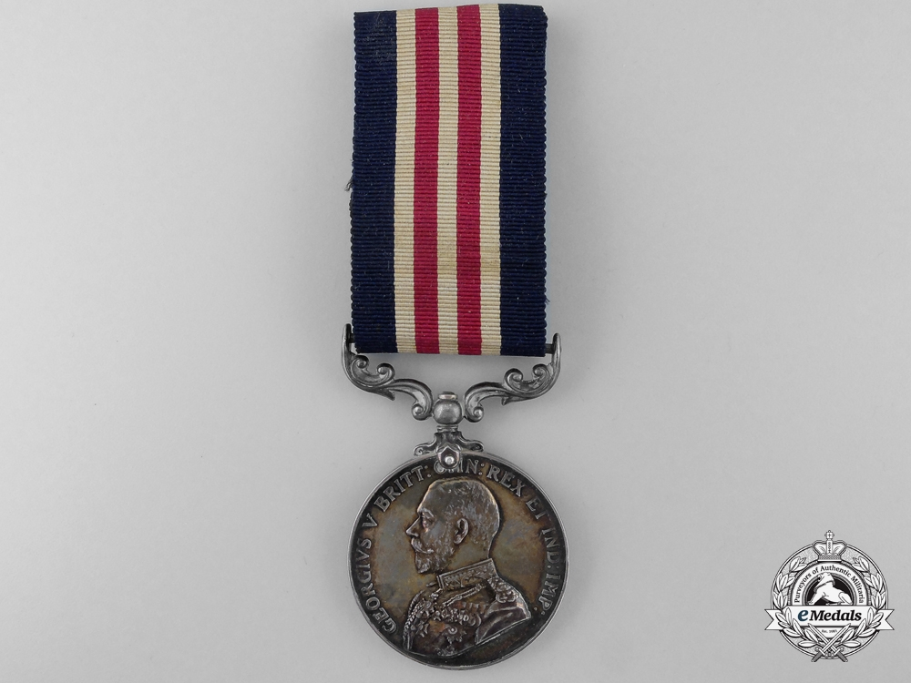A First War Military Medal to an American in No.3 Squadron R.F.C.