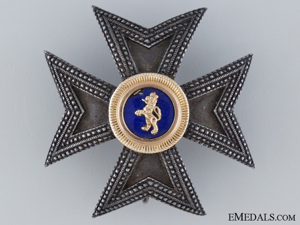 A Hessen House Order of the Golden Lion; Grand Commanders Star
