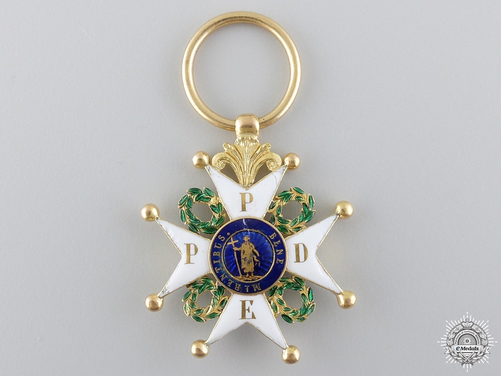 An Order of St. Philip of the Lion of Limburg in Gold