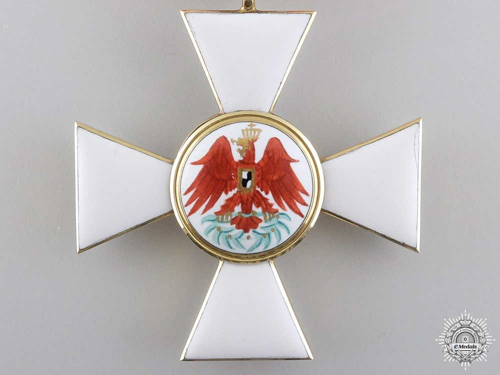 A Prussian Order of Red Eagle; 3rd Class in Gold by Wilm