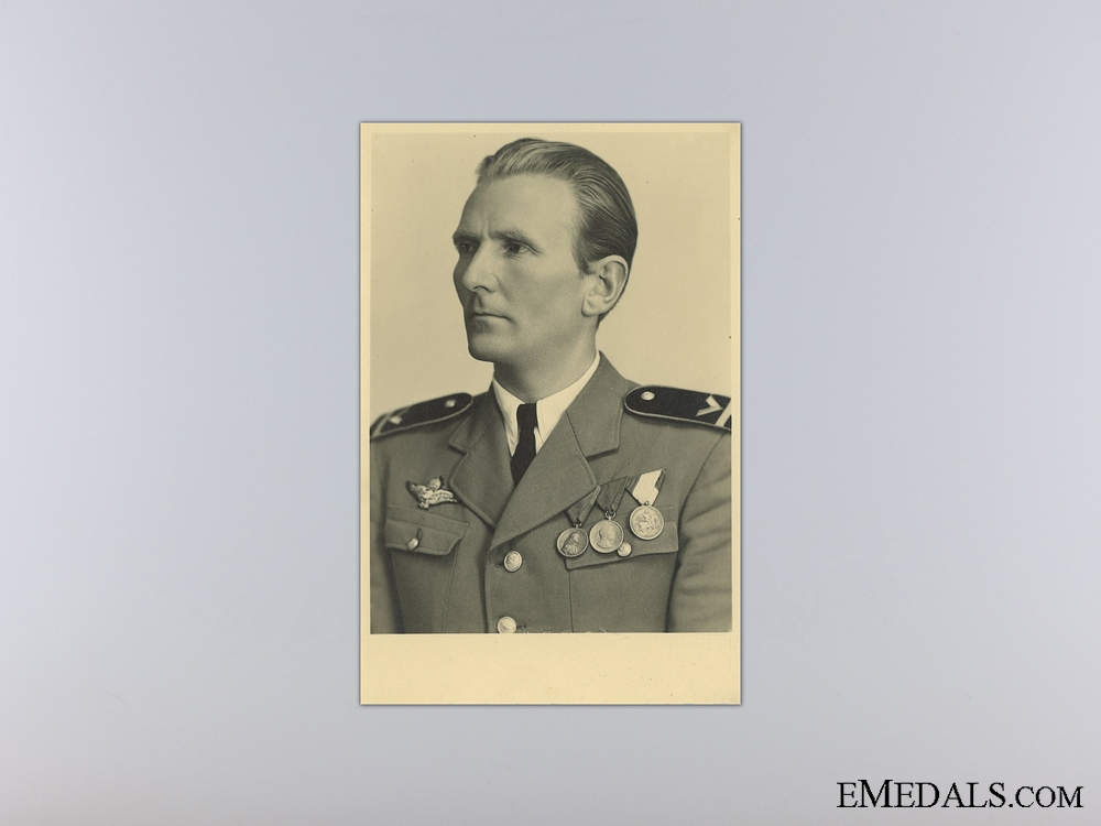 Two WWII Period Hungarian Photos