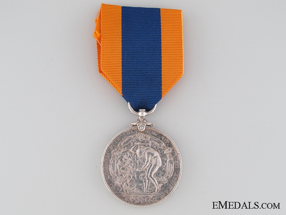 Commemoration of the Union of South Africa Medal 1910
