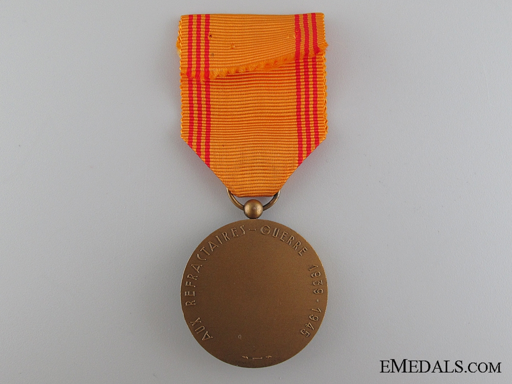 French Medal of the Resister, 1939-1945