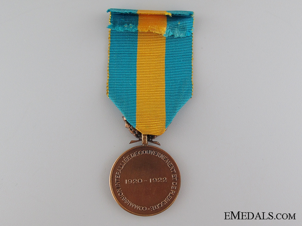 French Upper Silesia Medal