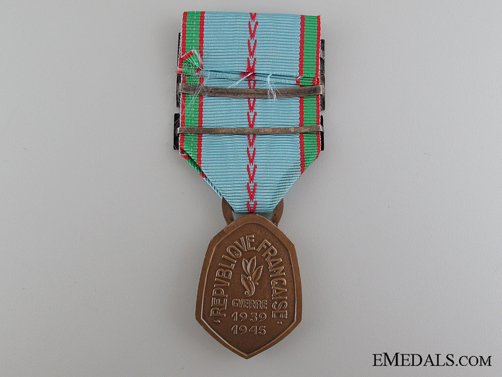 French War Commemorative Medal, 1939-1945