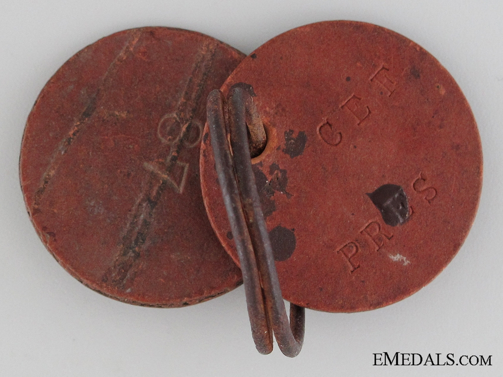 WWI ID Tags to the 125th Infantry Battalion