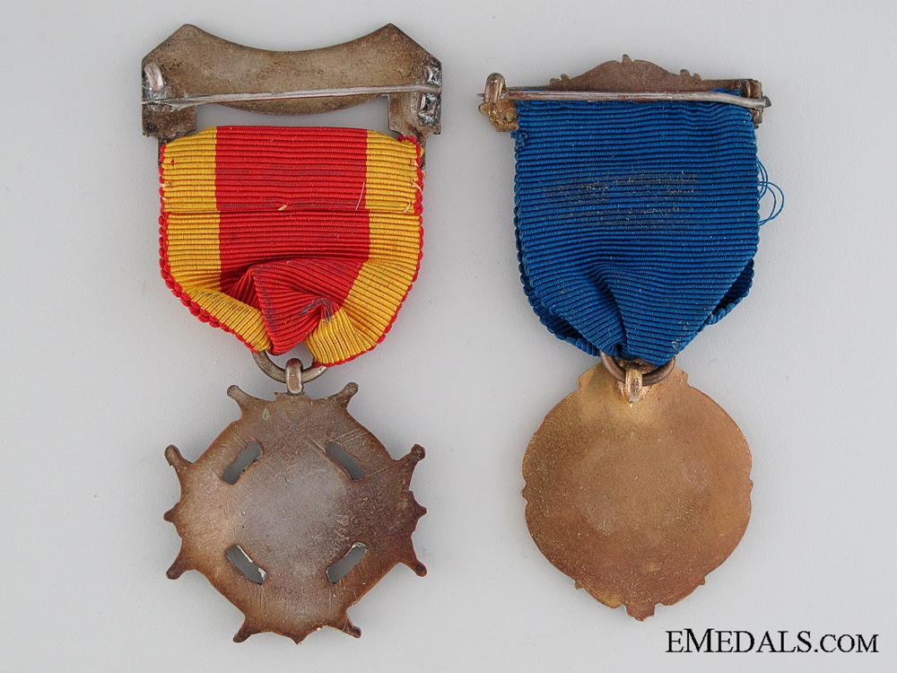 Two British Temperance Medals