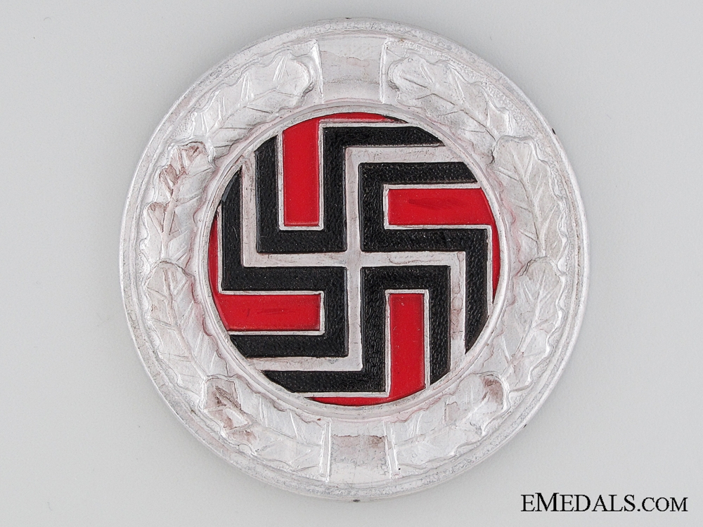 WWII Badge of the German Regiment (Croatian Army)