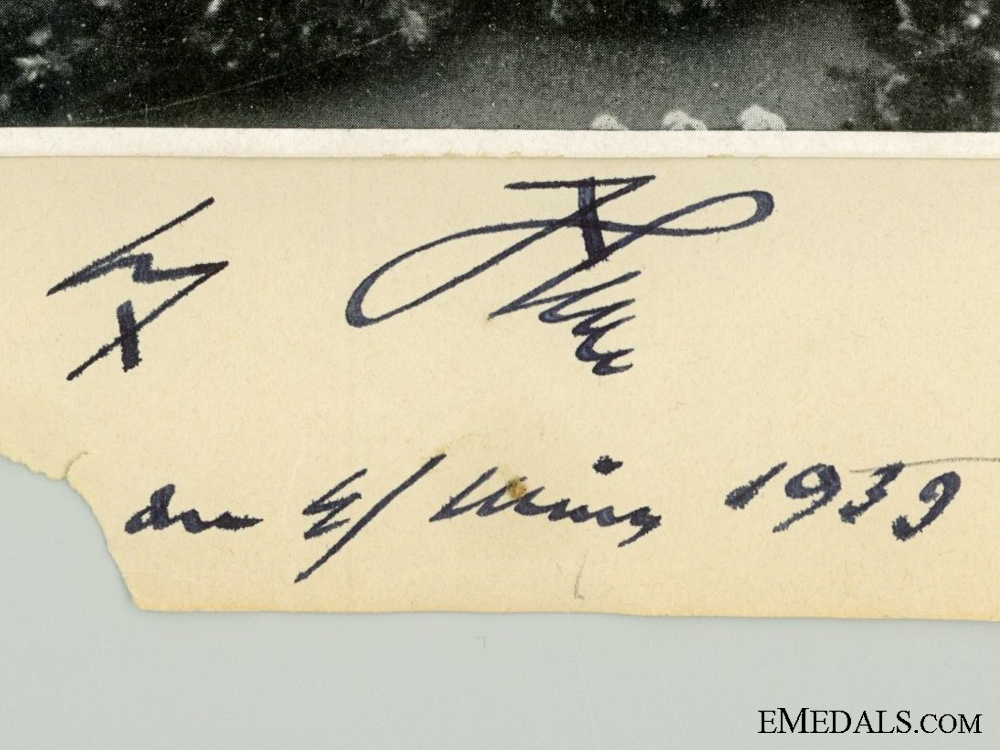 A 1939 Dated AH Signature