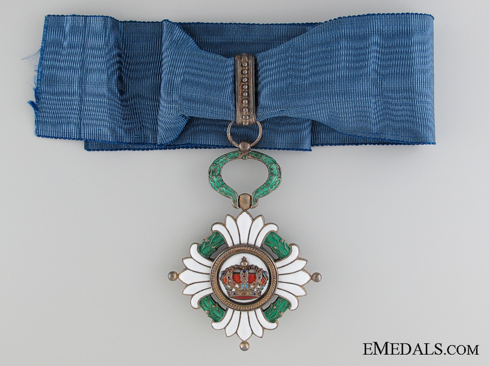 The Order of the Yugoslav Crown; 2nd Class Set