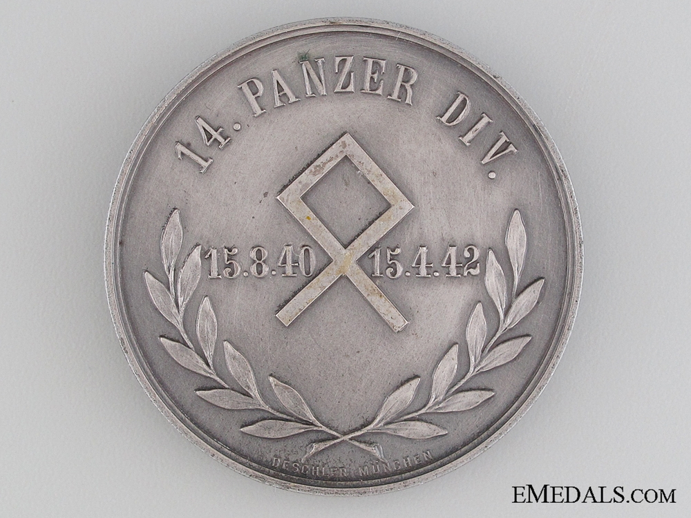 Commemorative Medal of the 14th Panzer Division