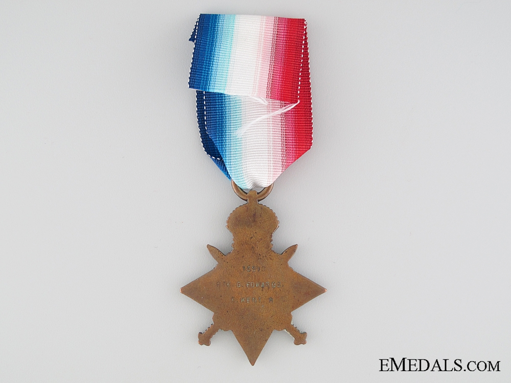1914-15 Star to the The Buffs (East Kent Regiment)