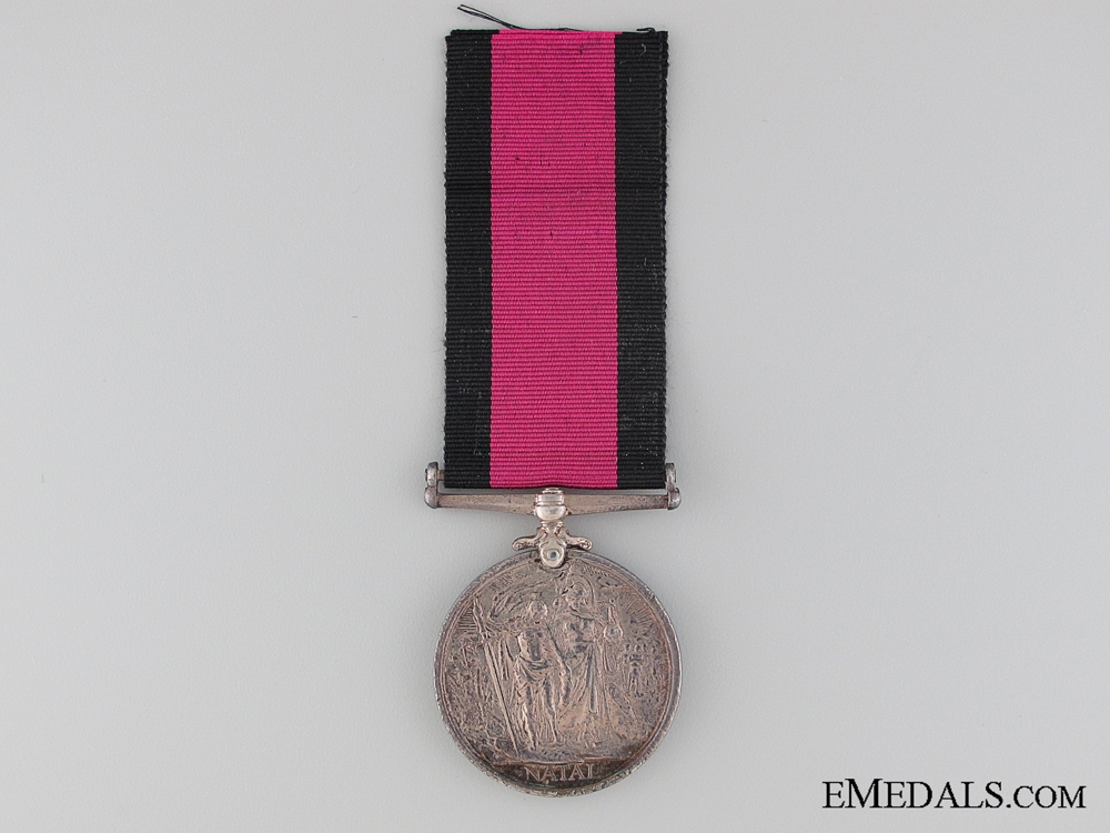 1907 Natal Rebellion Medal to Trooper Campbell