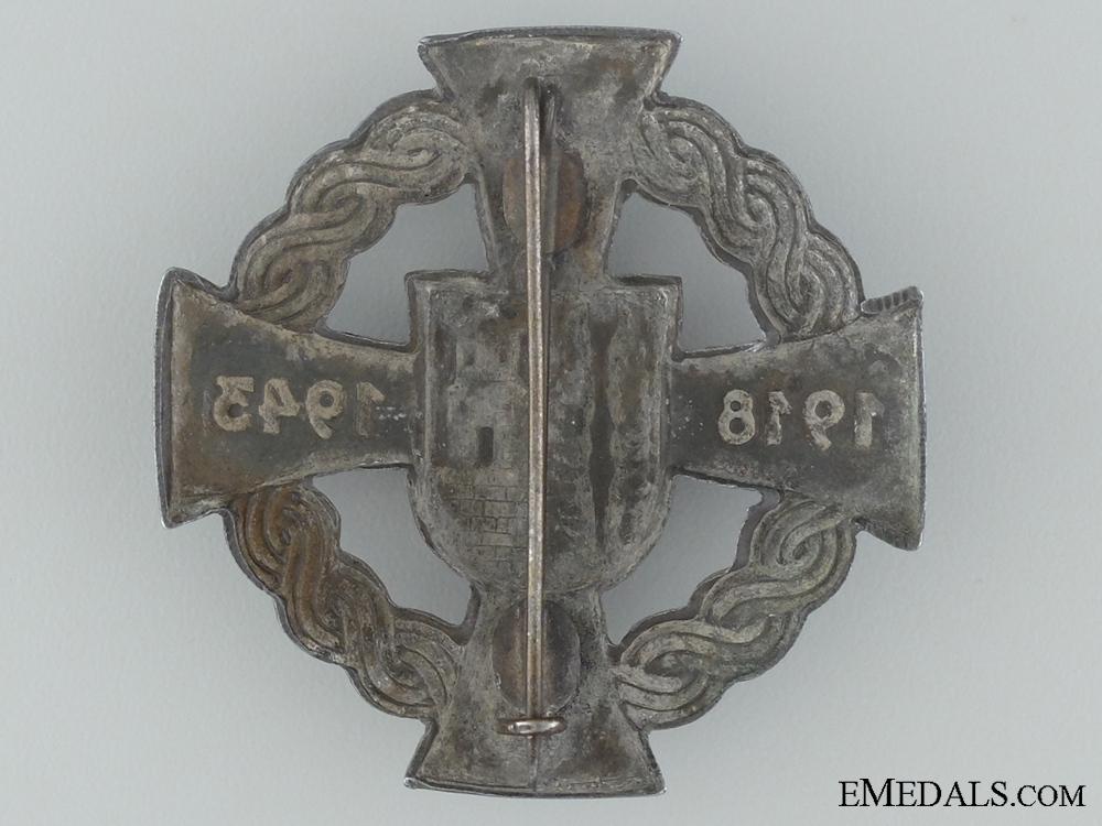 Commemorative Badge for the Annexation of the Medjimurje province, in Northern Croatia
