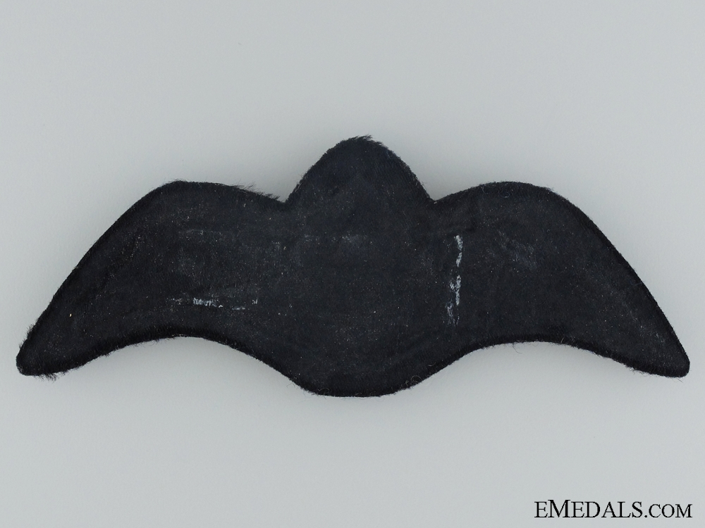 A Pre Second War NZAF Officer's Breast Wing