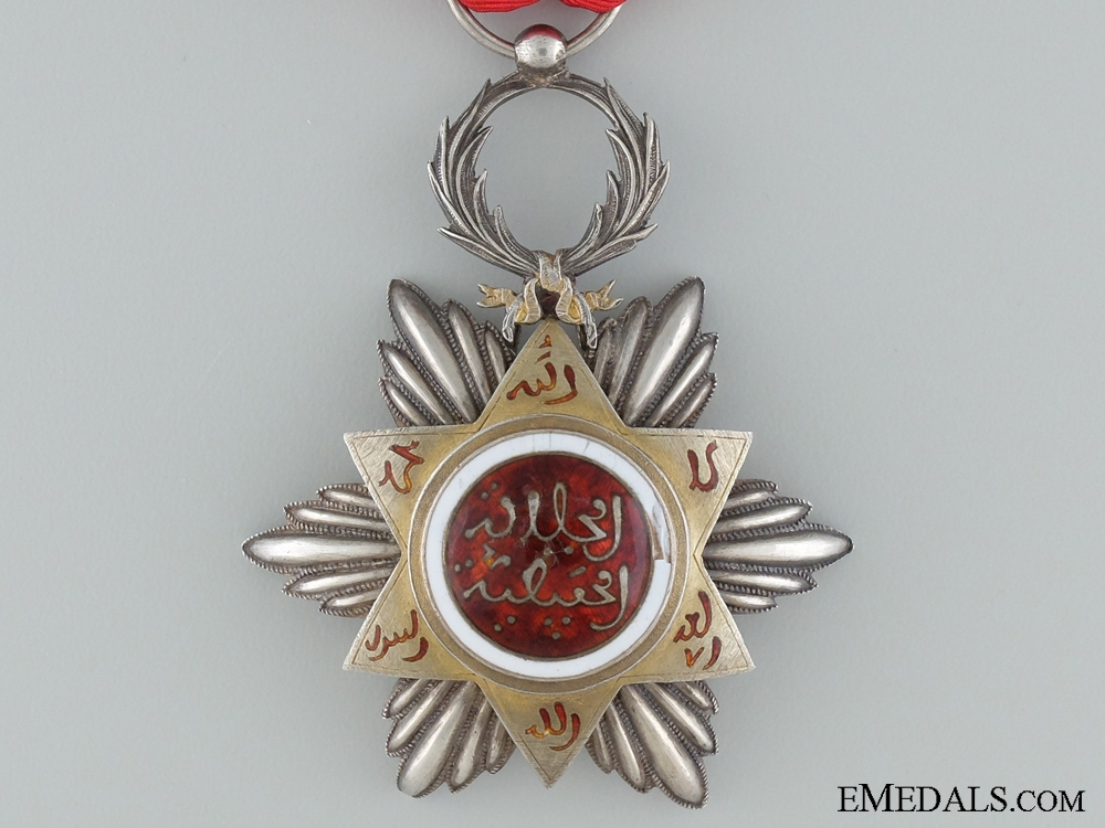 The Moroccan Order of Nishan Hafiden; Knight