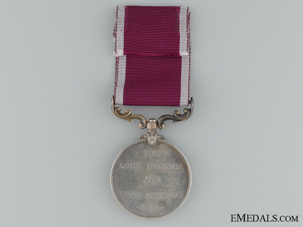 Army Long Service and Good Conduct Medal to the Royal Garrison Artillery