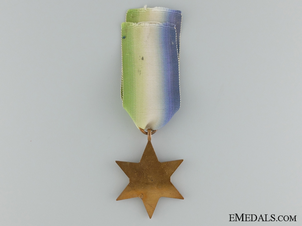 WWII Atlantic Star with Air Crew Europe Clasp