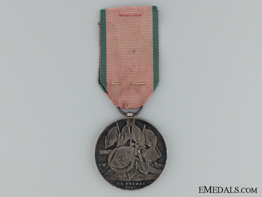 1855 Turkish Crimea Medal to the 39th Regiment of Foot