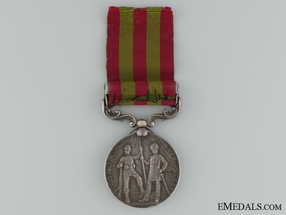 1895 Indian Medal to the King's Royal Rifle Corps
