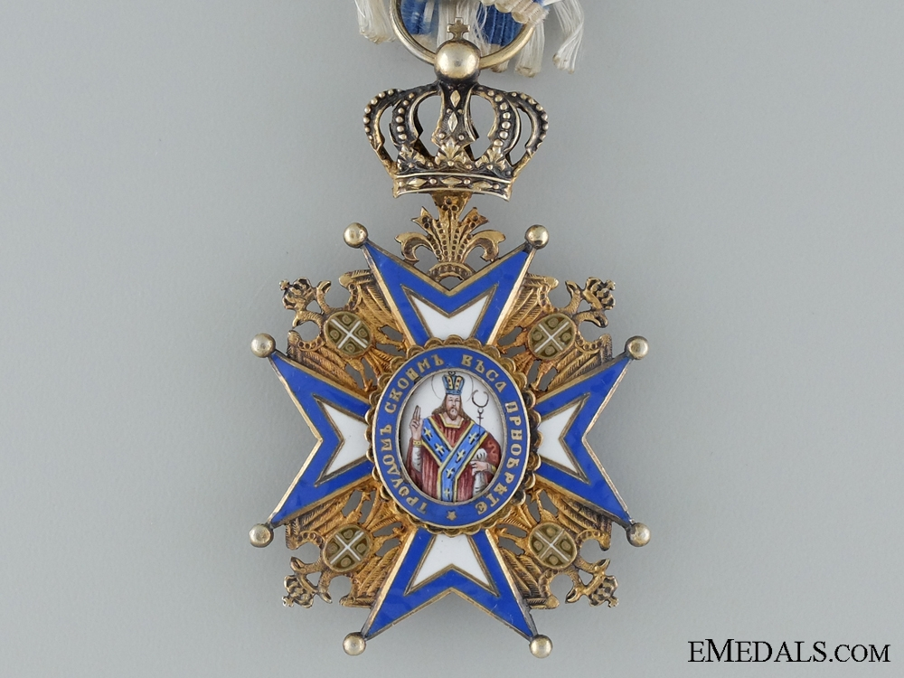 A WWI Serbian Order of St.Sava; Fourth Class