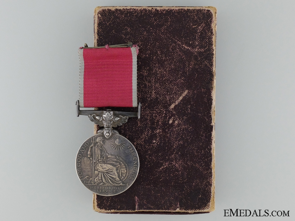 A British Empire Gallantry Medal Awarded for the R.101 Disaster
