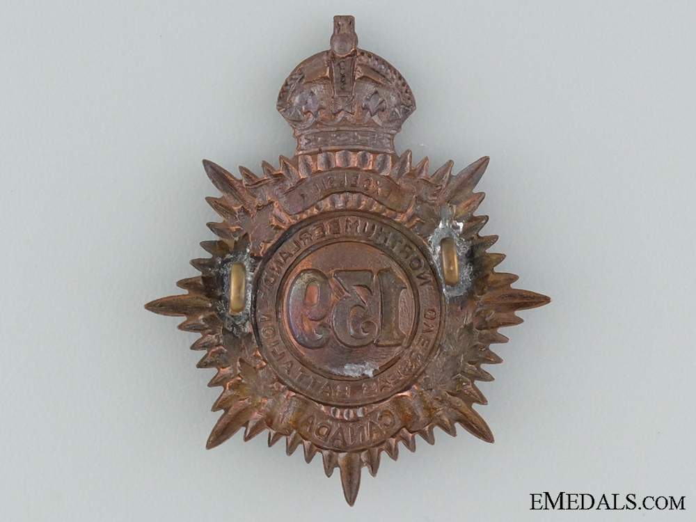 139th Northumberland Overseas Infantry Cap Badge CEF
