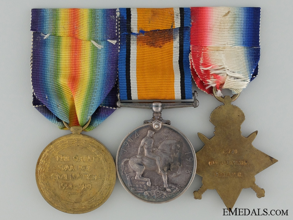 A First War Group to the Canadian Army Medical Corps CEF