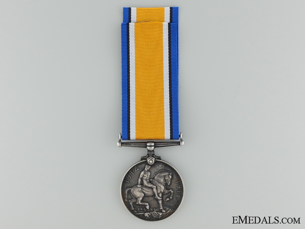 WWI British War Medal to the 37th Infantry Battalion