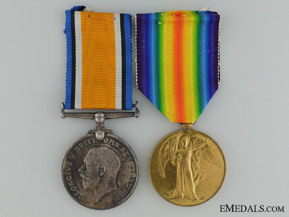 A Canadian Siberian Expeditionary Force Medal Pair