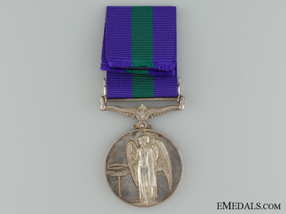 A 1918-1962 General Service Medal to the Army Pay Corps
