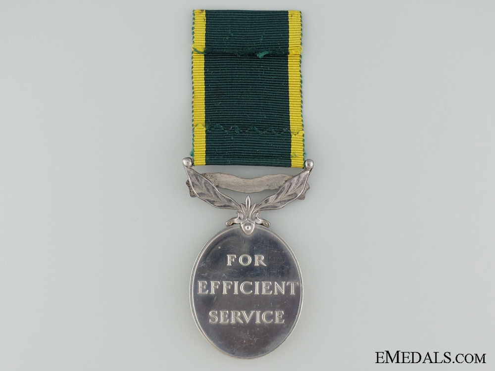 Efficiency Medal to the Green Howards