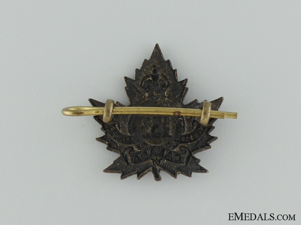 WWI 133rd Infantry Battalion Collar Badge CEF